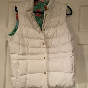 Lilly Pulitzer down vest. Never worn. XL
